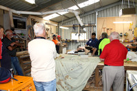 K1853 - Bairnsdale Men's Shed, new defibrillator, December 14, 2016