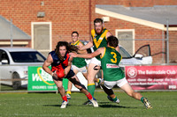 K599 - GL Bairnsdale v Leongatha Senior Football, April 30, 2016