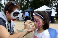 K609 - East Gippsland Field Days Face Painting, April 29, 2016