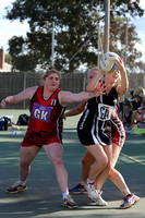"K596 - EGFNL Lucknow v Boisdale Briagolong ""A"" Netball, April 30, 2016"