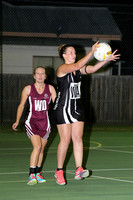 "K455 - EGFNL ""A"" Netball Lucknow v Lakes Entrance, April 9, 2016"