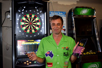 K517 - Stephen Gash Darts World Champion, April 22, 2016