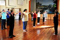 K587 - World Tai Chi Day at Bruthen Mechanics Hall, April 30, 2016