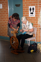 K857 - World Knit in Public Day Lakes Entrance, June 17, 2016