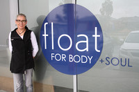 K1708 - Float for Body and Soul floatation centre, Eastwood, November 23, 2016