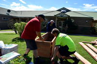 K1374 - Opal Aged Care Bairnsdale garden construction, September 20, 2016
