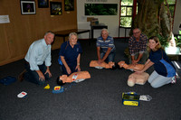 S40 - Orbost Neighbourhood House first aid training, February 12, 2016