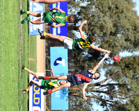 K589 - GL Bairnsdale v Leongatha U16 Football, April 30, 2016