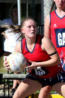 "K648 - GL Bairnsdale v Traralgon ""C"" and ""B"" Netball, May 7, 2016"