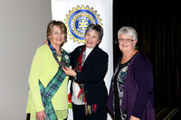 New K1020 - Bairnsdale Inner Wheel Changeover, July 14, 2016