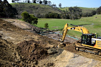 K1286 - Bunga Creek road works, September 6, 2016
