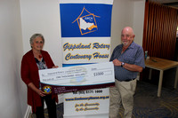 K1585 - Lakes Entrance Bowls Club Donation, November 5