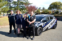 S307 - Skidz driving school at Orbost Secondary College, September 18, 2017
