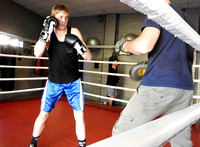 K1121 - Blake Wells Boxing Traning, August 5, 2016