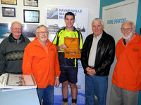 K1621 - Caulking irons presentation, Paynesville Slipyard, November 11