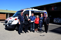 K1335 - Gippsland Lakes Masons cheque presentation, September 13, 2016